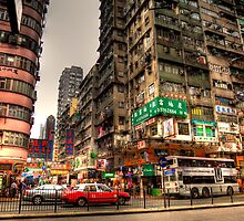 Nathan Road - Hong Kong by Paul Thompson Photography