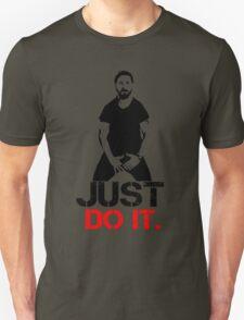 Shia Labeouf Motivation - White T-Shirt