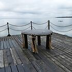 Table on the pier by Madeleine Forsberg