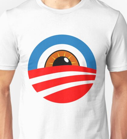 Eye of Obama: Big Brother is Watching Unisex T-Shirt