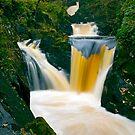Pecca Twin Falls, Ingleton, North Yorkshire by davidrhscott