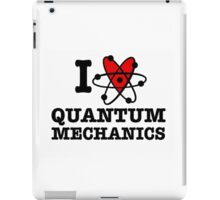 I Love Quantum Mechanics iPad Case/Skin