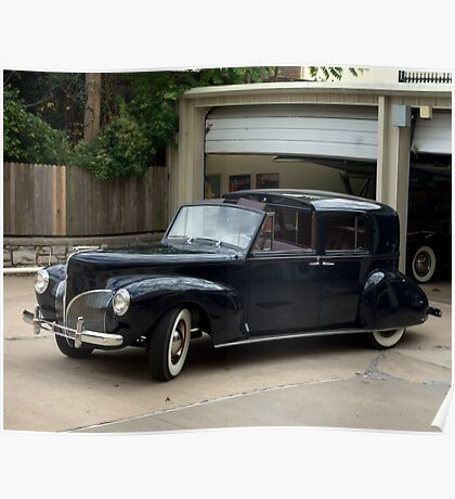 1941 Lincoln Continental City Limousine Poster