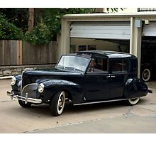1941 Lincoln Continental City Limousine Photographic Print