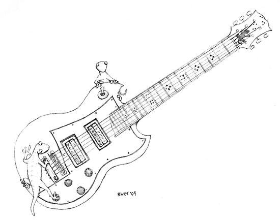 Gibson Geckos by Bart Castle