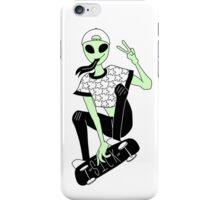 Sick alien  iPhone Case/Skin