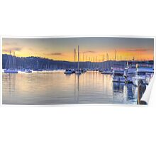Safe Harbour - Newport, Sydney - The HDR Experience Poster