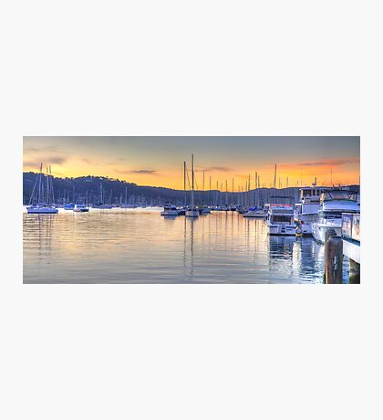 Safe Harbour - Newport, Sydney - The HDR Experience Photographic Print