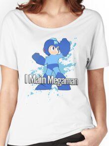 I Main Megaman - Super Smash Bros. Women's Relaxed Fit T-Shirt