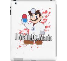 I Main Dr. Mario - Super Smash Bros. iPad Case/Skin