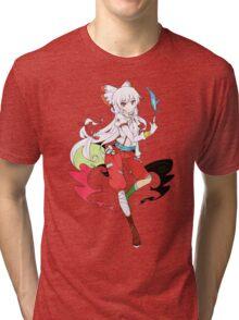 Touhou - Fujiwara no Mokou Tri-blend T-Shirt