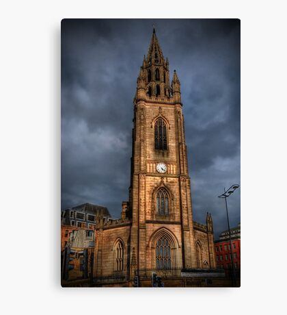Church of Our Lady and Saint Nicholas, Liverpool  Canvas Print