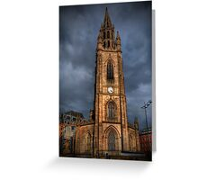 Church of Our Lady and Saint Nicholas, Liverpool  Greeting Card