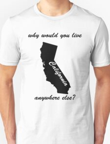 Why would you live anywhere else T-Shirt