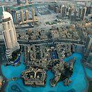 View from Burj Khalifa, Dubai by mojgan