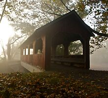 covered bridge by Mark de Jong