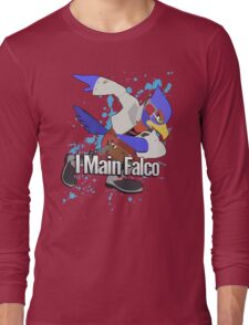 I Main Falco - Super Smash Bros. Long Sleeve T-Shirt