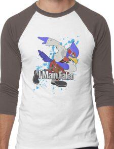 I Main Falco - Super Smash Bros. Men's Baseball ¾ T-Shirt