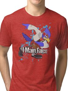 I Main Falco - Super Smash Bros. Tri-blend T-Shirt