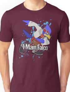 I Main Falco - Super Smash Bros. Unisex T-Shirt