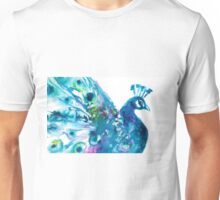 Pretty Peacock Unisex T-Shirt