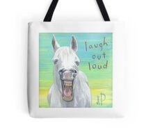 Lol white horse  Tote Bag