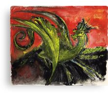Dragon of Air and Fire Canvas Print
