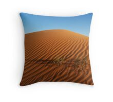 Sands of Simpson desert Throw Pillow