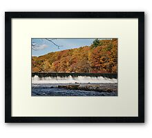 Up River Framed Print
