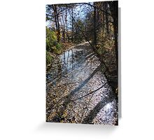 Canal Path Greeting Card