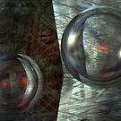 Never Underestimate The Power Of Dancing Spheres by Benedikt Amrhein