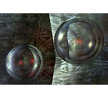 Never Underestimate The Power Of Dancing Spheres Photographic Print