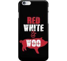 Arkansas Razorbacks Red, White & Woo iPhone Case/Skin