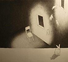 Ein Kaninchen braucht einen Stuhl. by Ronja