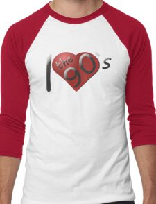 I love the 90s Logo Men's Baseball ¾ T-Shirt