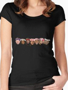 The Greendale Seven Women's Fitted Scoop T-Shirt