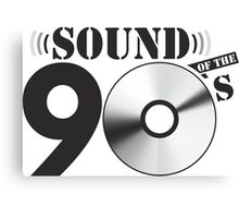 Sound of the 90s Logo Canvas Print