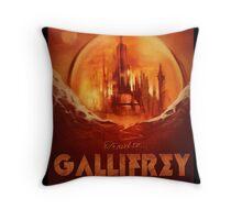 Travel To...  Gallifrey! Throw Pillow