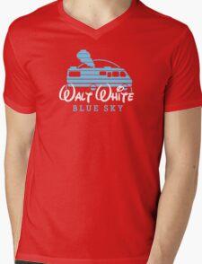 Walt White Mens V-Neck T-Shirt