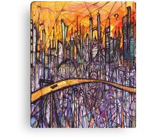 The Road to Gotham City (2004) Canvas Print