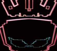 The Glitch King Sticker