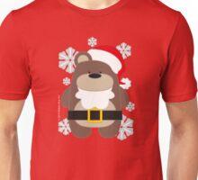 Santa Bear Unisex T-Shirt
