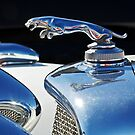 Leaping Jaguar Hood Ornament by Jill Reger