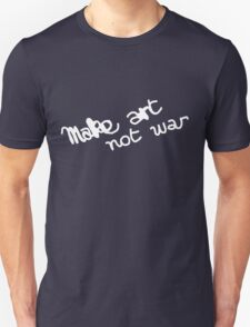 Make Art Not War Graffiti T-Shirt