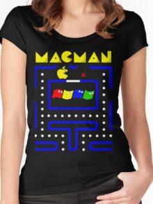 Mac-Man Women's Fitted Scoop T-Shirt
