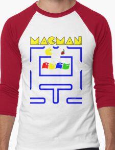 Mac-Man Men's Baseball ¾ T-Shirt