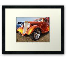ford custom golden Framed Print