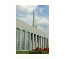 Preston Temple - Southern Aspect Art Print