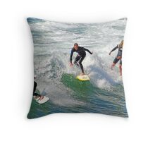 Andy Irons Memorial Paddle Out, Bells Beach 6 Nov Throw Pillow