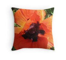 Where the Poppies Grow- November 11, 2010 Throw Pillow